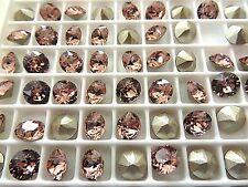 24 Blush Rose Foiled Swarovski Crystal Chaton Stone 1088 29ss 6mm