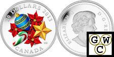 2013 'Candy Cane (Murano Glass)' Proof $20 Silver Coin 1oz .9999 Fine (13301)