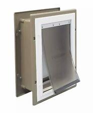 New PetSafe Wall Entry Aluminum Pet Door Ppa11-10916 - Medium Ships Fast