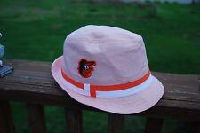 Unique Baltimore Orioles brimmed men's dress hat