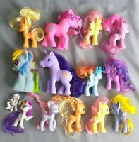 Lot of 14 My Little Pony Figures HASBRO-GI-GO TOYS -C17