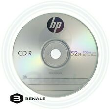 20 HP CD CD-R Logo Branded in 80gr White paper sleeves 52X 700MB disc