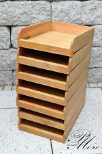 1 Stück alte Schreibtisch Schublade aus Massivholz gezapft