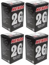 """4x Kenda 26"""" MTB Tube 26x2.3/2.4 P/V F/V Presta Valve Fat Bike Plus Size"""