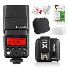 Godxo TT350S TTL Camera Flash + XIT-S Transmitter + 4*AA2500 +Battery Charger