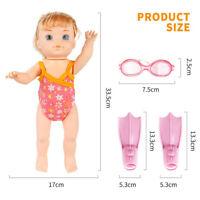 Kinder Schwimmpuppe Baby Interaktive Puppen geben vor, Geburtstagsgeschenk