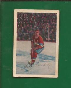 1952-53  PARKHURST  # 5  DICK GAMBLE   Montreal Canadiens   Good-Very Good