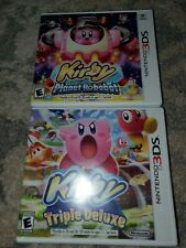 Nintendo 3DS Games: Kirby Planet Robobot & Kirby Triple Deluxe