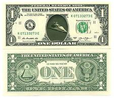 STAR WARS - DESTROYER STELLAIRE IMPERIAL - VRAI BILLET 1 DOLLAR US! Vaisseau ISD