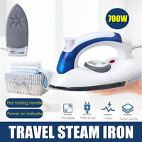 700W Steam Iron Clothes Travel Electric Press Garment Handheld Portable
