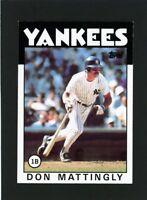 1986 Topps Don Mattingly #180                    A506