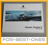 NEU Porsche Cayman / Cayman S 981 981c Betriebsanleitung Bedienungsanleitung