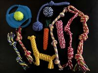 Dog Toys Aggressive Chewers, Dog Rope Puppy Teething Toys For Small Medium Dogs