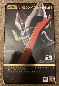Bandai Super Robot Chogokin Mazinger Z Kurogane Finish Version action figure