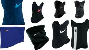 Nike Neck Warmer Mens - boys Junior Black Thermal Fleece Snood Football unisex
