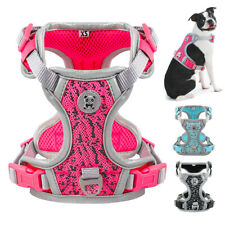 No Pull Dog Harness Reflective Padded Pet Vest Adjustable Quick Fit Rottweiler
