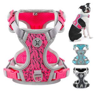 No Pull Dog Harness Reflective Padded Pet Vest Adjustable Quick Fit Rottweiler