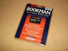 Franklin Bookman bookcard-Diccionario De Español-inglés-DBE-2020 - Sellado