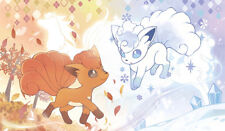TT517 Pokemon Vulpix Playmat Yugioh MTG Pokemon Vanguard Anime Gaming Mats