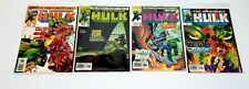 MARVEL COMICS x 4- The Incredible Hulk #457, #458, #459, #460 LOT sold together