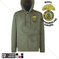 Royal Northumberland Fusiliers - Hoodie Zipped + Personalisation