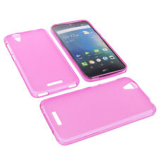 Custodia Per Acer Liquid Z630 Cellulare Cover Protettiva TPU IN Gomma Rosa