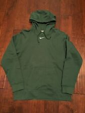 Nike Hoodie Middle Swoosh Green Center Check Sweatshirt Travis Scott Men's XL