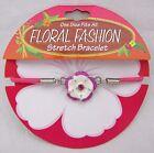 Floral Fashion Stretch Bracelet by DM Merchandising Jewelry Flower Jewel New