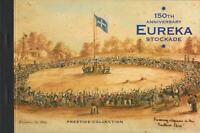 150th ANNIVERSARY EUREKA STOCKADE PRESTIGE STAMP BOOKLET AUSTRALIA - MINT