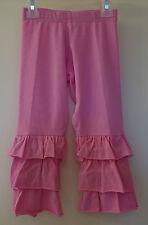 Brand New Kelly's Kids Kylie Fuchsia Pink Triple Ruffle Pants ~ Girl's Sz 2