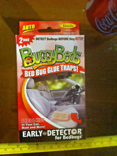 Buggy Beds 2Pack New Glue Traps For Bed Bugs Auto Vanilla Cars Boats RV Campers