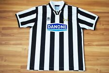 JUVENTUS ITALY 1994/1995 HOME FOOTBALL SHIRT JERSEY MAGLIA KAPPA LARGE DANONE