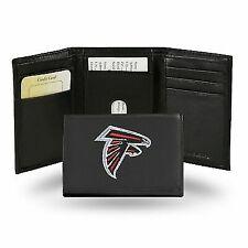 NFL Atlanta Falcons Team Logo Leather Tri-fold Wallet