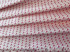 Lovely Rose y Hubble Flamingo Tela de la impresión 100% algodón 112cm Ancho Por Metro