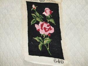Royal Paris Needlepoint Of Rose Stems