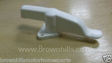 HYMER ERIBA MOTORHOME CARAVAN STABLE DOOR CATCH WHITE