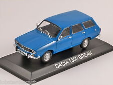 Dacia 1300 Break in Blue 1/43 Modèle à l'échelle par Altaya