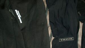 padded cycling tights XL bib trouser job lot x2 hardly used