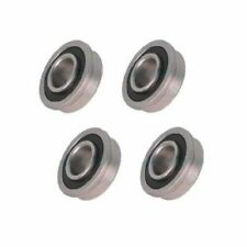 Four Precision Sealed Flanged 1-1/8
