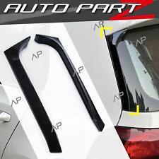 2x Vertikale Heck Spoiler Flaps Heckflügel für VW GOLF 6 VI MK6 GTI R GTD 08-13