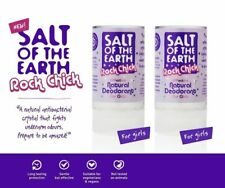 SALT OF THE EARTH ROCK CHICK EFFECTIVE NATURAL DEODORANT FOR GIRLS - 2x90g
