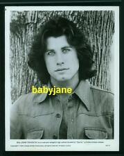 JOHN TRAVOLTA VINTAGE 8X10 PHOTO 1976 HANDSOME PORTRAIT BRIAN DE PALMA'S CARRIE