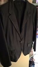 Giacca in vera Pelle Conbipel 44 nera real leather jacket