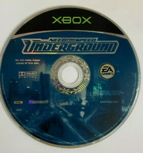 NEED FOR SPEED UNDERGROUND DISC ONLY for XBOX - TESTED & FAST POST