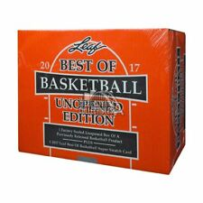 2016/17 Leaf Best Of Basketball Unopened Edition Factory Sealed Hobby Box
