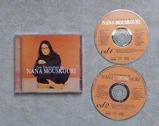 "CD AUDIO / NANA MOUSKOURI ""LES TRIOUMPHES DE NANA MOUSKOURI"" 2XCD COMPILATION 95"