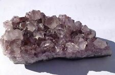 Natural Amethyst Quartz Crystal Cluster Specimen #2 - great mineral gift!