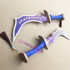 Dissidia Final Fantasy Zidane Double Swords twin swords cosplay prop pvc made
