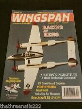 WINGSPAN #106 - RACING AT RENO - DEC 1993