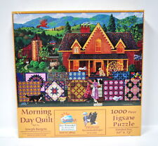 Morning Day Quilt Jigsaw Puzzle 1000 Piece